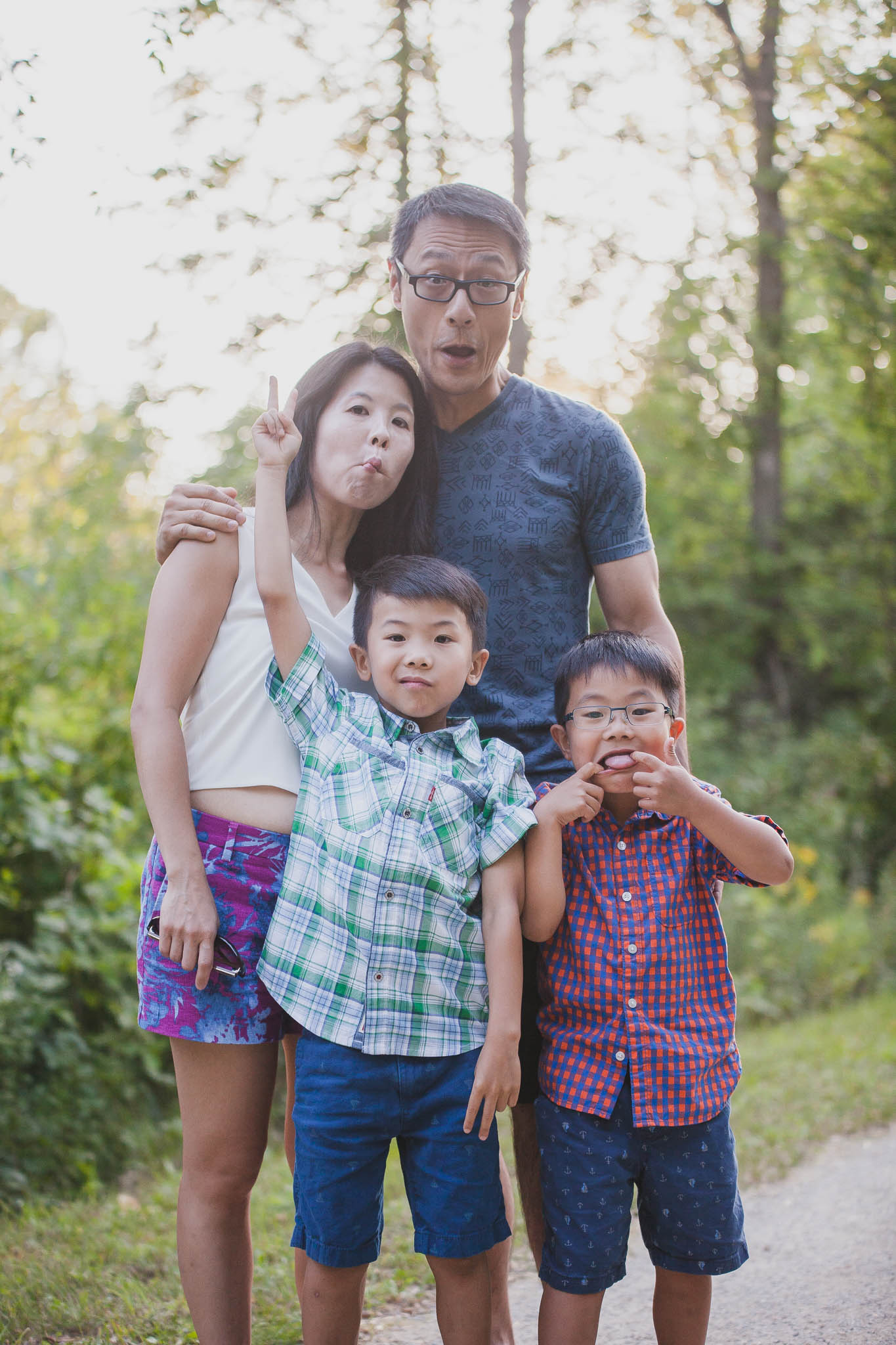 blue mountain family photography