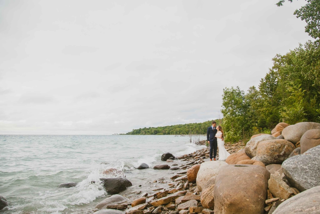 waterfront wedding photography
