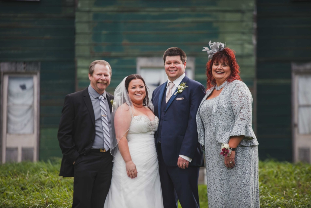 wedding family photo